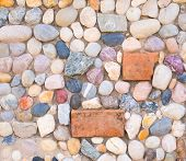 Decorative Cracked Real Mineral Stone Wall Surface With Cement