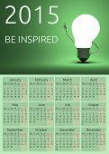 Calendar 2015, Be Inspired