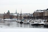 Stockholm - Harbor in the Winter