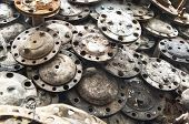 Rust Metallic Car Parts