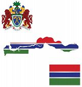 Republic of the Gambia Flag