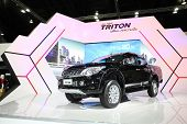 Bangkok - November 28: Misubishi  All New Triton Car On Display At The Motor Expo 2014 On November 2
