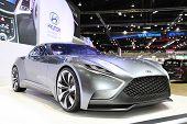 Bangkok - November 28: Hyundai Hnd-9 Car On Display At The Motor Expo 2014 On November 28, 2014 In B