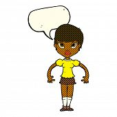 pic of annoying  - cartoon woman looking annoyed with speech bubble - JPG