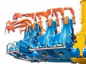 picture of amusement park rides  - Image of Safety seat of amusement park ride - JPG