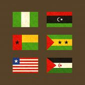 picture of guinea  - Flags of Nigeria - JPG