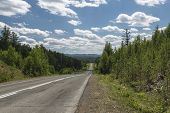 foto of ural mountains  - The Republic of Bashkortostan - JPG