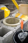 pic of chimney  - Construction of modular ceramic chimney in the house - JPG