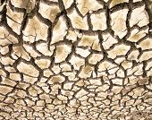 foto of crack cocaine  - Drought the ground cracks no hot water lack of moisture - JPG