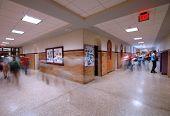 School Hallway 1