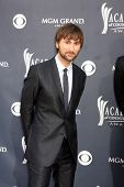 LAS VEGAS - APR 3:  Dave Haywood of Lady Antebellum  arriving at the Academy of Country Music Awards