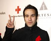 LOS ANGELES - APR 9:  Pete Wentz arriving at the 2011 American Red Cross Santa Monica Chapter's Annual Red Tie Affair at Fairmont Miramar Hotel on April 9, 2011 in Los Angeles, CA
