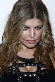 LOS ANGELES - APR 13:  Fergie aka Stacy Ferguson arriving at the Kimberly Snyder Book Party For
