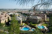 View Of Contemporary Neighborhood & Yards
