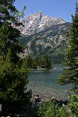 Jenny Lake In The Tetons