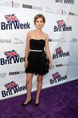 LOS ANGELES - APR 26:  Amelia Jackson-Gray arriving at the 5th Annual BritWeek Launch Party at Briti