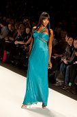 NEW YORK - FEBRUARY 12:  Naomi Campbell walks the runway for the  Fashion for relief-Haiti   during