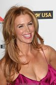 HOLLYWOOD, CA. - JANUARY 16: Poppy Montgomery attends the G'Day USA black tie gala on January 16, 2010 at Hollywood and Highland Grand Ballroom in Hollywood.