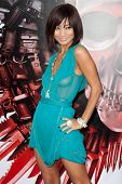 HOLLYWOOD, CA. - AUG 3: Bai Ling arrives at The Expendables Los Angeles premiere at Grauman's Chinese Theater on August 3, 2010 in Hollywood, Ca.