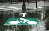 Weird bicycle roadsign