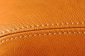 picture of collate  - Detail of a leather armchair - JPG