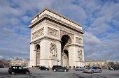 The Arc deTriomphe in Paris