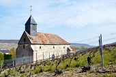 French church in the vineyard