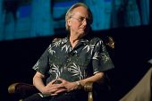 TEMPE, AZ - APRIL 6: Dr. Richard Dawkins, author of The Selfish Gene and The God Delusion, addresses