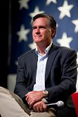 MESA, AZ - JUNE 4:Former Massachusetts Governor Mitt Romney appears at a town hall meeting on June 4