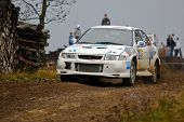 Lower Austria, Austria - November 8; Manfred Stohl wins the 27th Waldviertel Rallye in Lower Austria