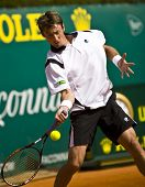 MONTE CARLO MONACO APRIL 21 Juan Carlos Ferrero Spain competing at the ATP Monte Carlo Masters in M