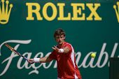 MONTE CARLO MONACO APRIL 24 Juan Carlos Ferrero Spain competing at the ATP Monte Carlo Masters in M