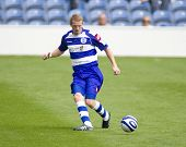LONDON, UK AUGUST 2, Damien Delaney at the pre-season friendly football match between QPR and Chievo