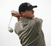 GLENEAGLES SCOTLAND AUGUST 29, Scotland's Paul Lawrie competing in the Johnnie Walker Classic PGA Eu