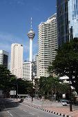 picture of klcc  - Kuala Lumpur Malaysia  - JPG