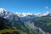 Slopes Of The Jungfrau