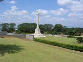 White CrossIn War Cemetery