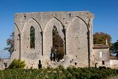 Ruins In Saint Emilion