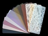 Semi-transparent  Venetian Blinds Color Chart