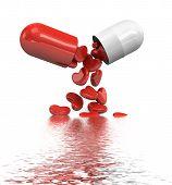 Heart Shape In Pills