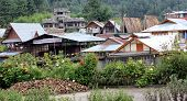 Village roof tops - Ziro