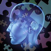 verwirrt Gehirn