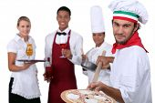 waiters and cooks