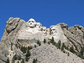 picture of mount rushmore national memorial  - Scenic View of Mount Rushmore - JPG