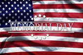Happy Memorial Day Greeting Card, National American Holiday. Memorial Day Background Remember And Ho poster