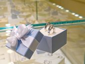 Present Gift In Jewerly Shop