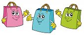 Smiling Shopping Bags