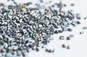Polímero metálico prata