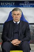 FC Paris Saint-germain Director Carlo Ancelotti