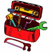 Toolbox Illustration